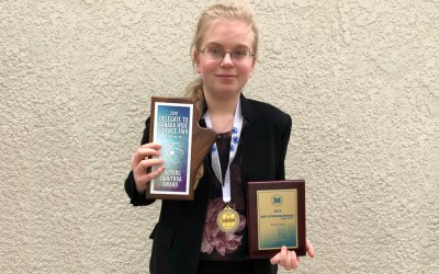 MB Schools Science Symposium, Gold Medal Winner