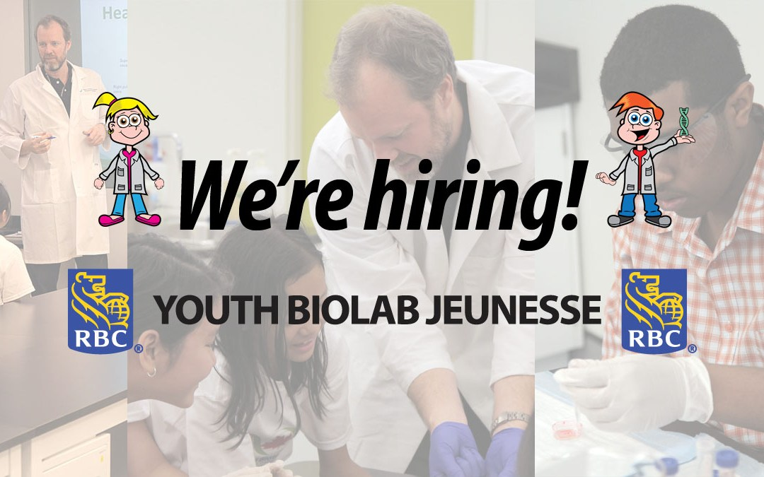 Opportunity: Full-Time Education Liaison – Youth BIOlab