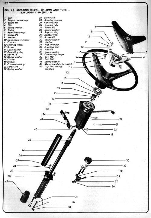 small resolution of steering wheel 1 thesamba com 411 412 view topic type 4 steering wheels 1972 vw steering column wiring harness
