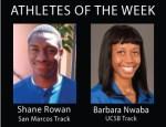 Athletes of the Week: Shane Rowan and Barbara Nwaba