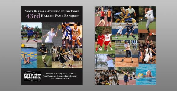 Santa Barbara Athletic Round Table 2010 Hall of Fame Banquet Cover