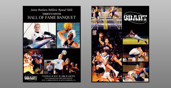 Santa Barbara Athletic Round Table 2006 Hall of Fame Banquet Cover