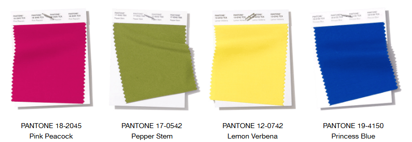 Pantone—London Fashion Week Spring/Summer 2019 Color Trend Report 2