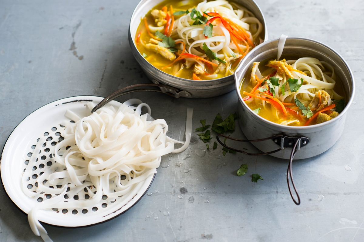 Nepalese chicken noodle soup thukpa recipe  SBS Food