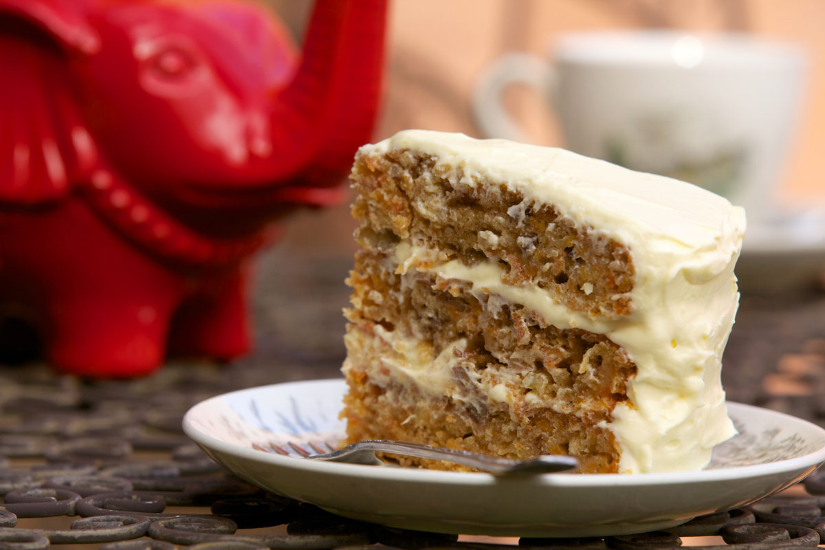 Southern Style Carrot Cake Carrot Cake Recipe Sbs Food