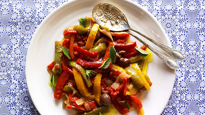 Pepperonata recipe  SBS Food