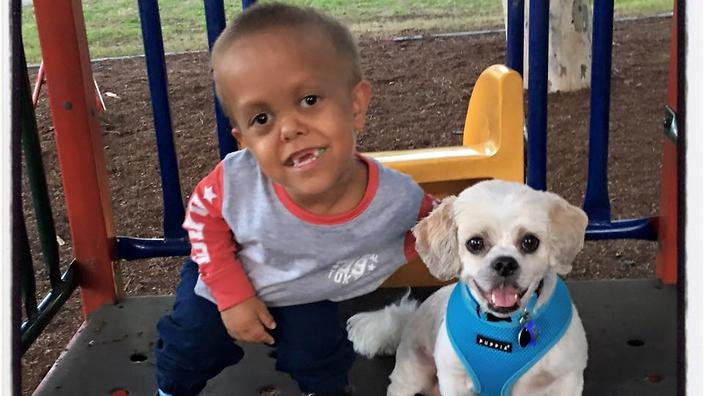 Quaden Bayles Has A New Best Friend In His Dog With