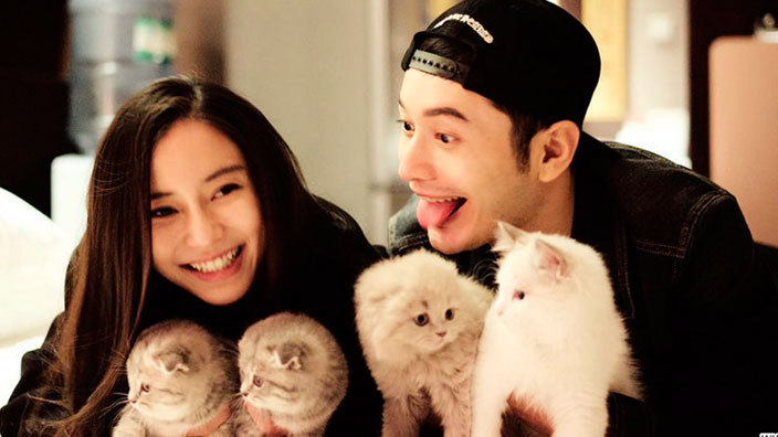 Angelababy and Huang Xiaoming celebrate wedding anniversary with the world  SBS PopAsia