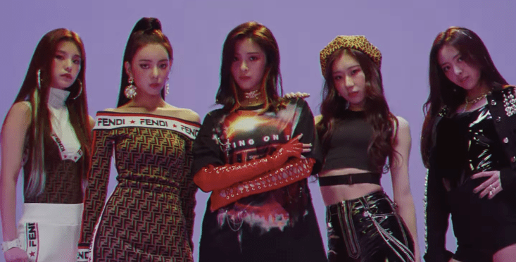 Pink Wallpaper For Girls Watch Jyp Share Teaser Film For New Girl Group Itzy Sbs