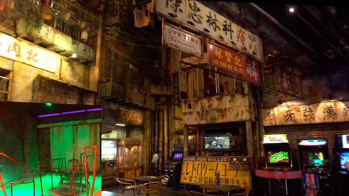 VIDEO Take a walk inside the Kowloon Walled City themed