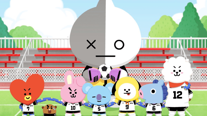 Cute Line Wallpaper Bt21 Stickers Are Coming To Facebook Messenger Soon Sbs