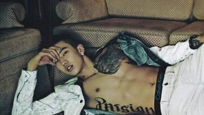 Jay Parks shirtless timeline  SBS PopAsia