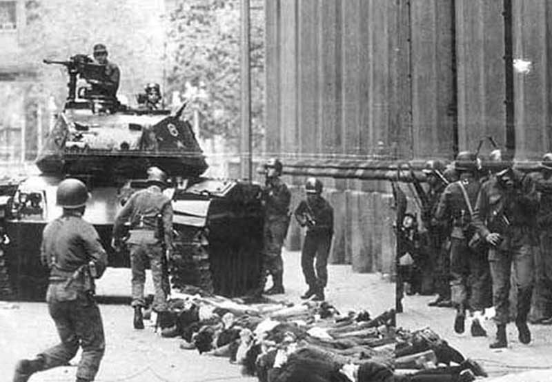 Image result for Allende coup chile 1973 images