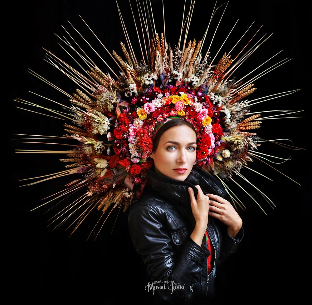 These Traditional Floral Crowns Celebrate Ukrainian