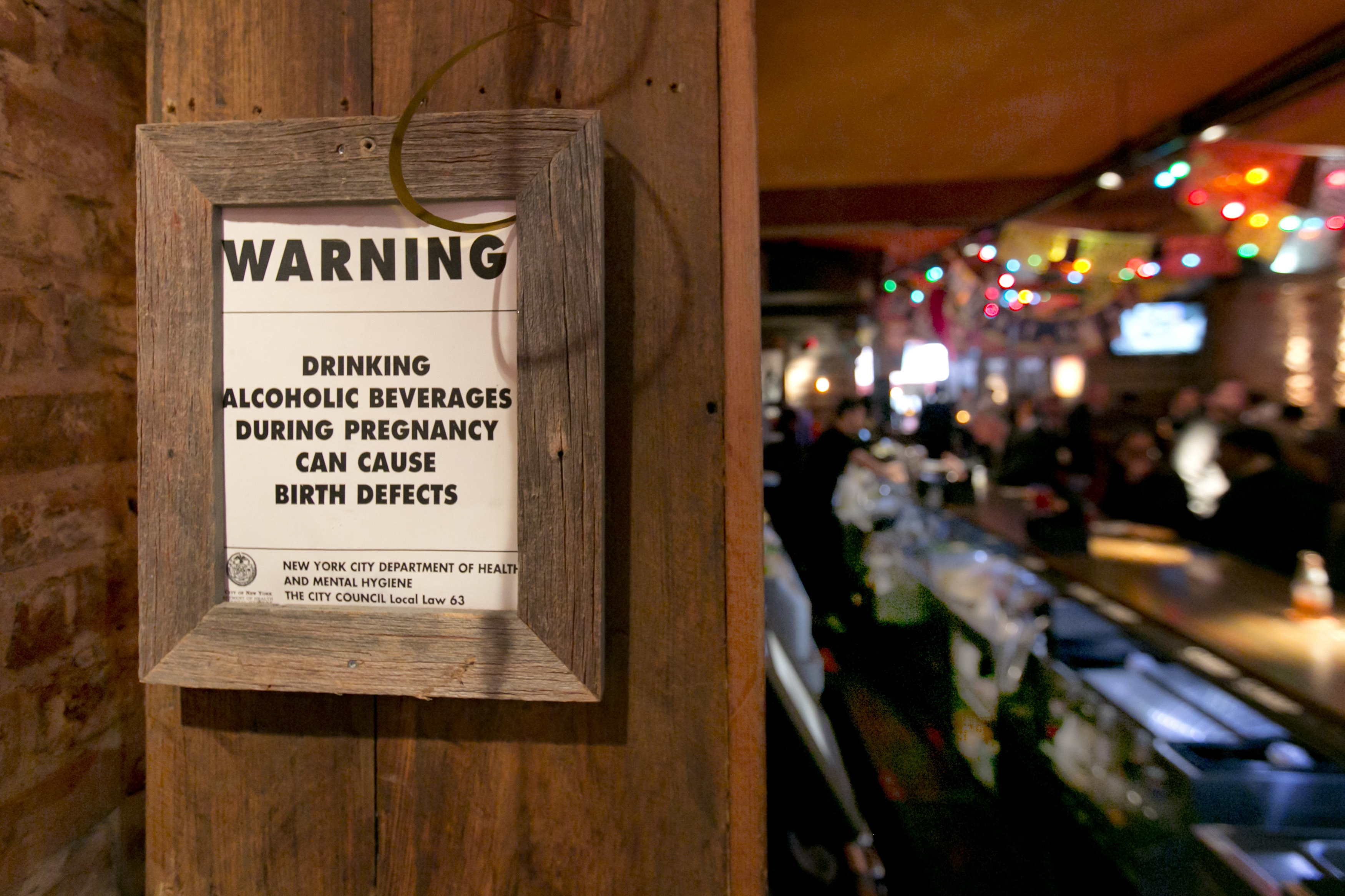Now bars in New York must provide pregnant women with alcohol  SBS Life