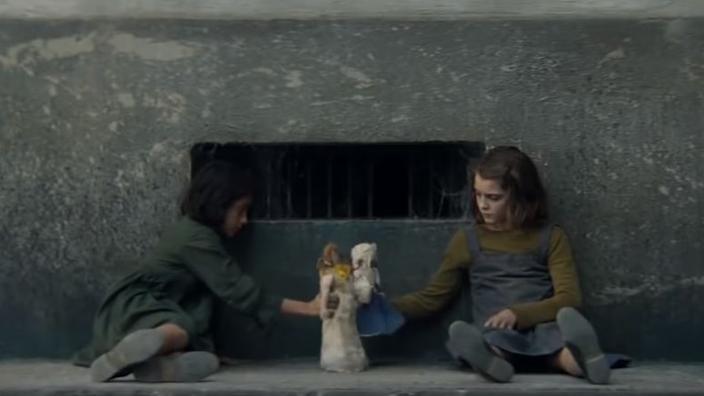 Watch the tv trailer for Elena Ferrantes My Brilliant