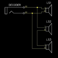 Parallel Speaker Wiring Diagram Project Management Office Structure Sbs4dcc Multiple Speakers To A Decoder Amp