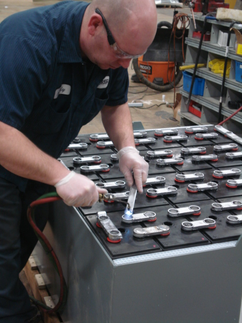 Forklift Battery Service Repair and Maintenance