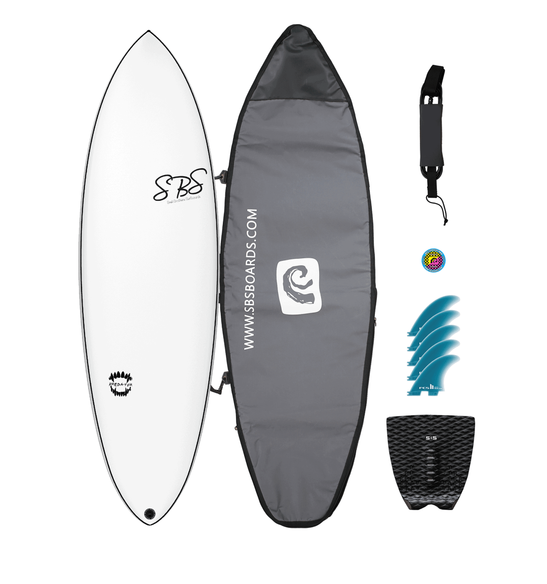 Hunting for Waves With The Predator Surfboard