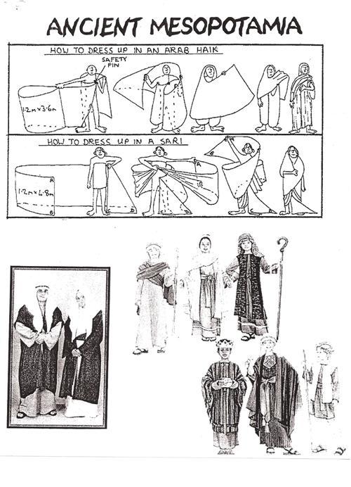 *6th Grade Information / World Festival Day Costume Ideas
