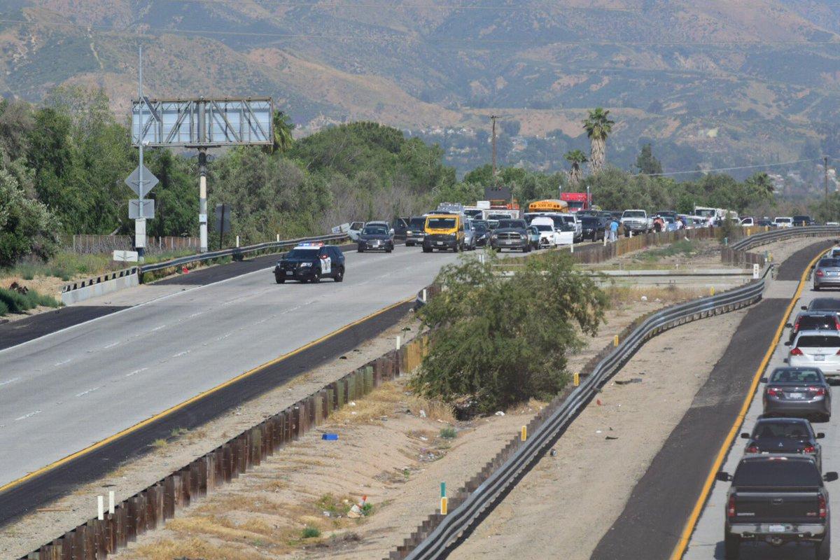 210 Freeway Accident Today San Bernardino U2013 The Millennial