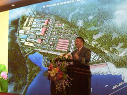 2.Ông Lê Phước Vũ – Chủ tịch HĐQT Tập đoàn Hoa Sen phát biểu tại hội nghị (1)