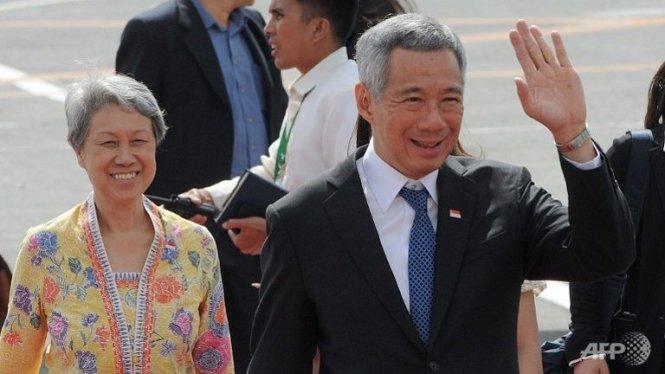 Thủ tướng Singapore đến Sài Gòn trước khi ra Hà Nội