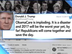 Sẽ có 14 triệu người mất bảo hiểm y tế trong năm 2018 nếu đảng Cộng Hòa thông qua luật y tế Trumpcare