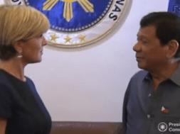 Tổng thống Philippines ký thỏa thuận thương mại và viện trợ với Úc, Trung Cộng