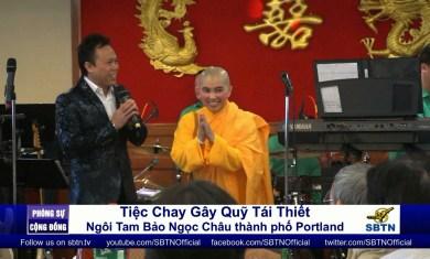 Tiec Chay Gay Quy Tai Thiet Ngoi Tam Bao Ngoc Chau tai Portland