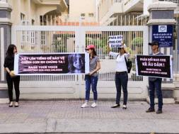 biểu tình phản đối ở sài gòn – nguyễn phương