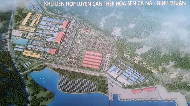 Thủ tướng CSVN yêu cầu Ninh Thuận tạm dừng đưa ra dự án thép Cà Ná