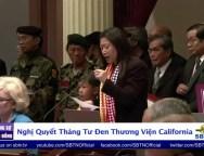 PHÓNG SỰ ĐẶT BIỆT Nghị Quyết Tháng Tư Đen Của Thượng Viện California