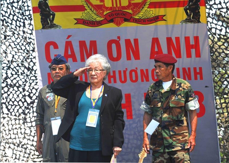 Cựu nữ Trung Tá VNCH Nguyễn Thị Hạnh Nhơn từ trần
