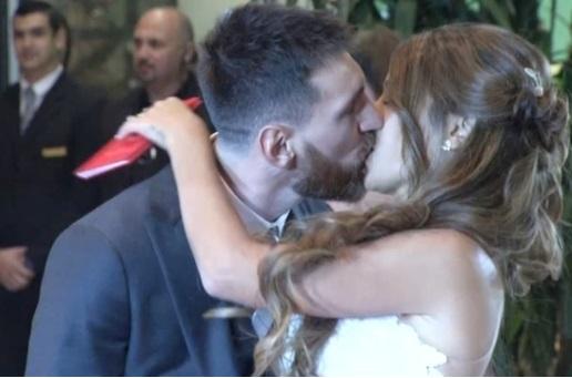 Đám cưới siêu sao Lionel Messi câu lạc bộ Barcelona được tổ chức ở Argentina