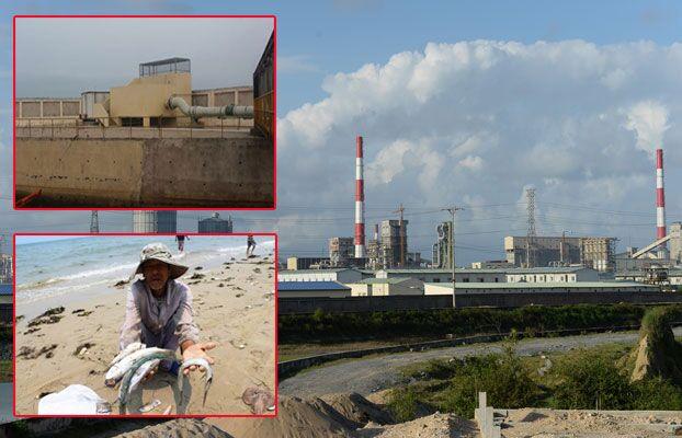 Khí thải của Formosa vượt chuẩn trong khi vận hành thử nghiệm