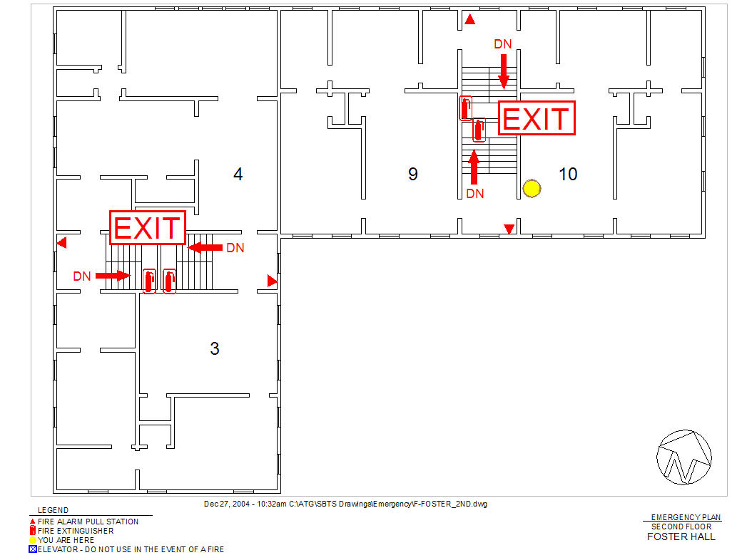 Fire Evacuation Amp Safety Maps