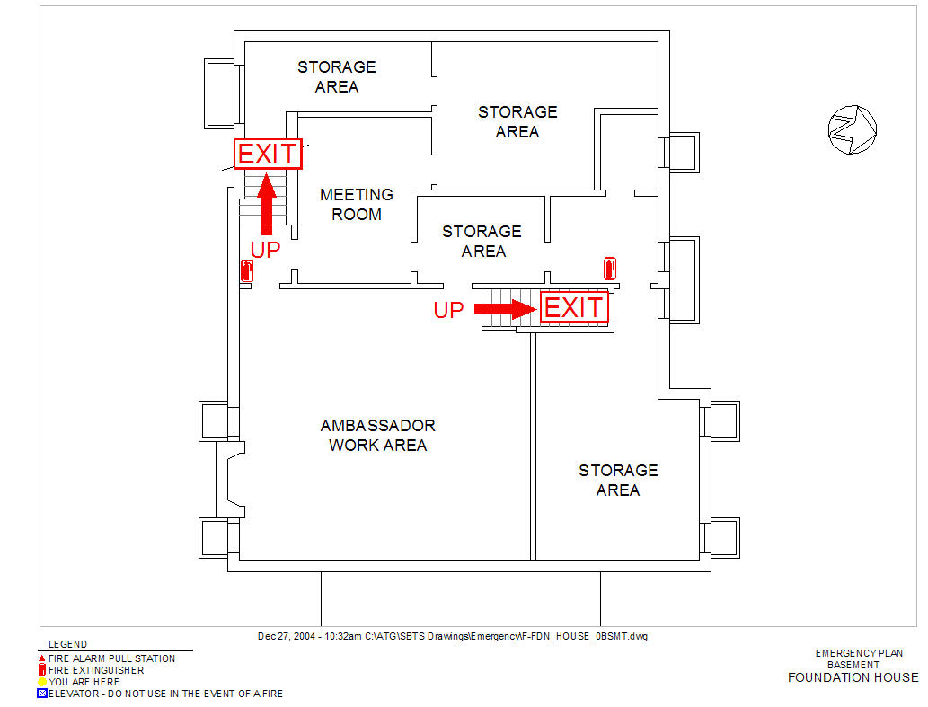 example of fire exit diagram ez go textron 27647 g01 wiring 5 wire trailer lights 4