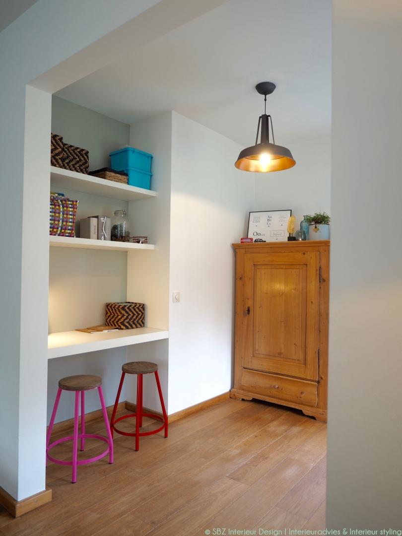 Interieur styling woonkamer/ keuken - SBZ Interieur Design