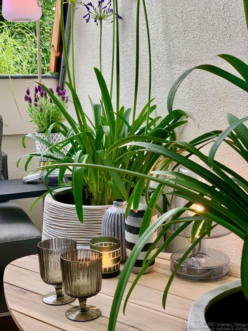 Balkon styling – ontwerp en interieur project © sbzinterieurdesign.nl 118