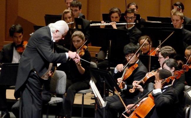 Usc Symphony Orchestra School Of Music University Of