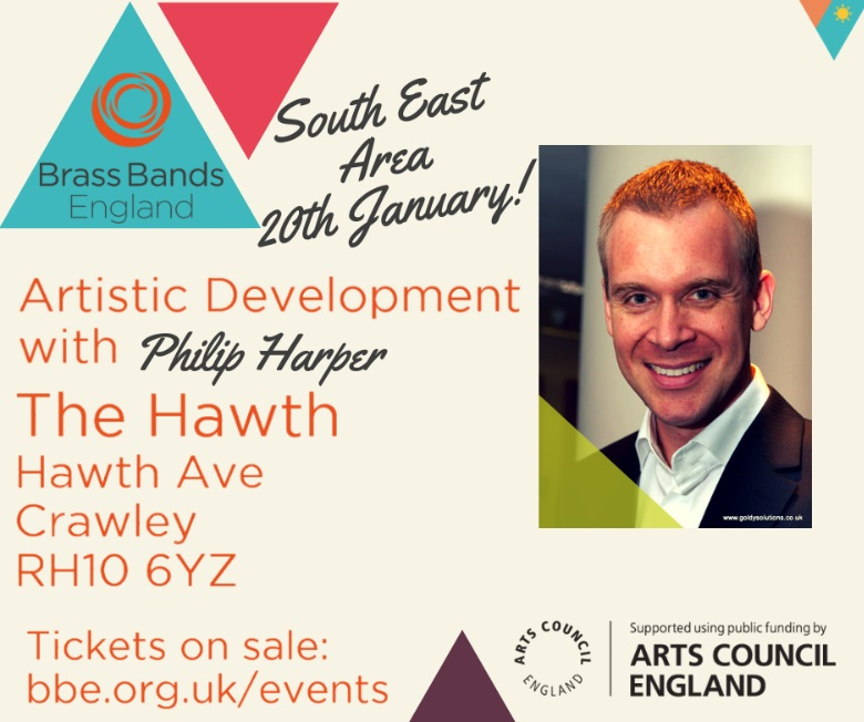 Artistic Development with Philip Harper (BBE Training Day - South East) @ The Hawth | England | United Kingdom