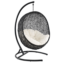 Swing Chair With Stand Malaysia Game Of Thrones Replica Nest Outdoor Hanging Wicker Furniture