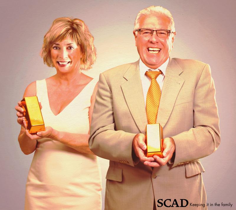 Paula Wallace_Accreditation season at SCAD.  Awaiting the accreditation team—SCAD style