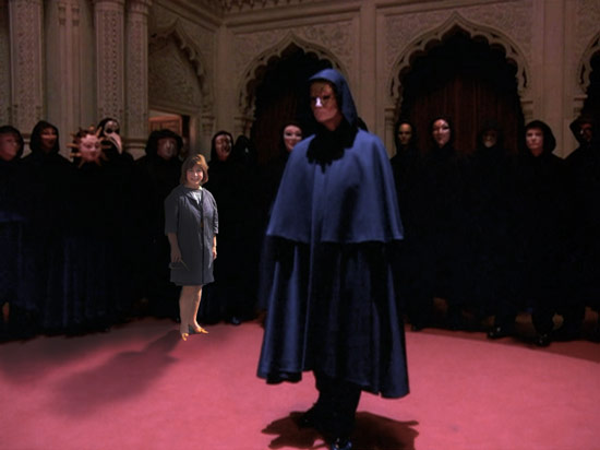 Dear Leader and SCAD's Fashion Dean at their weekly fashion department meeting.