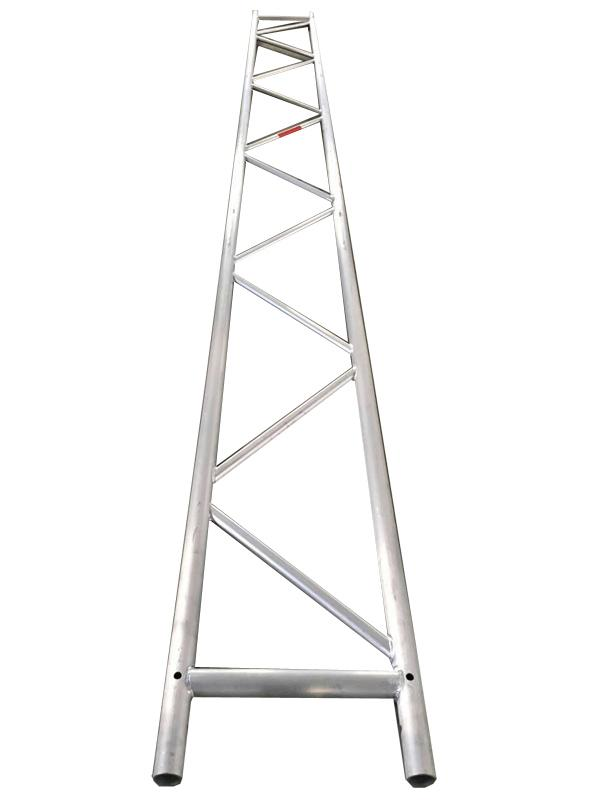 Mobile aluminum scaffolding h frame with fiberglass plank