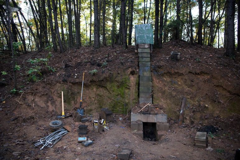Life in the woods: North Carolina's growing homeless tent