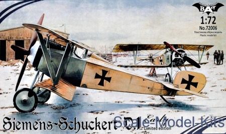Siemens-Schuckert D.1, early