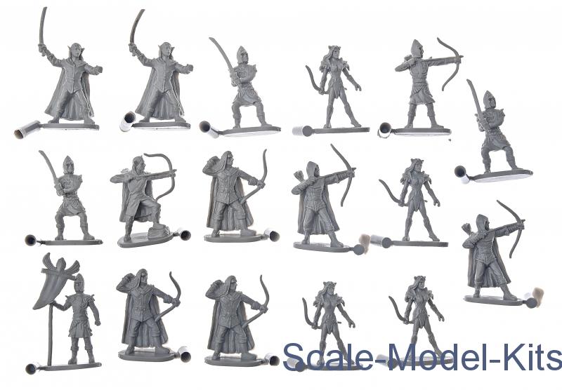 Elves-Caesar Miniatures plastic scale model kit in 1:72