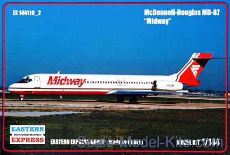 Civil airliner MD-87, Midway